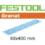 FESTOOL サンドペーパー GR 80x400 P80 50枚入り 497159
