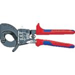 【国内発送】 9531250:キコーインダストリアル KNIPEX ラチェットケーブルカッター 250mm-その他