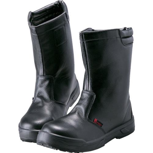 ノサックス   耐滑ウレタン2層底 静電作業靴 半長靴 25.0CM KC008825.0