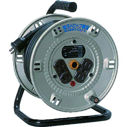 日動 電工ドラム スタミナリール100V 2芯 20m NP204F
