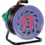 日動 電工ドラム 標準型100Vドラム アース過負荷漏電しゃ断器付 30m NFEK34