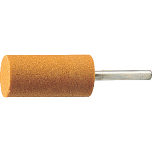 軸付砥石 TRUSCO 海外限定 軸付砥石WA 円筒型 #60 Φ19X幅25X軸6 MO521P 5本入 海外