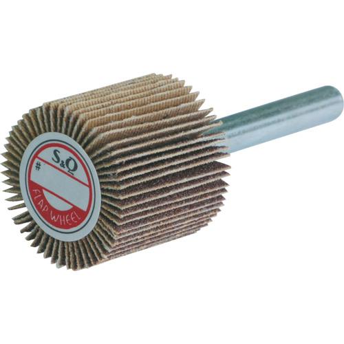 MURAKO 軸付フラップ金具無し 外径25幅25軸径6mm 粒度#60 60# KN2525
