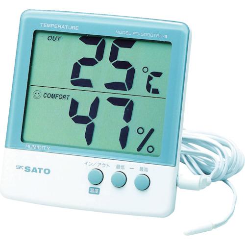 佐藤 最高最低温湿度計 PC5000TRH2