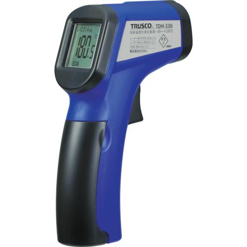 TRUSCO 放射温度計 測定温度範囲-60~550℃ TDH330