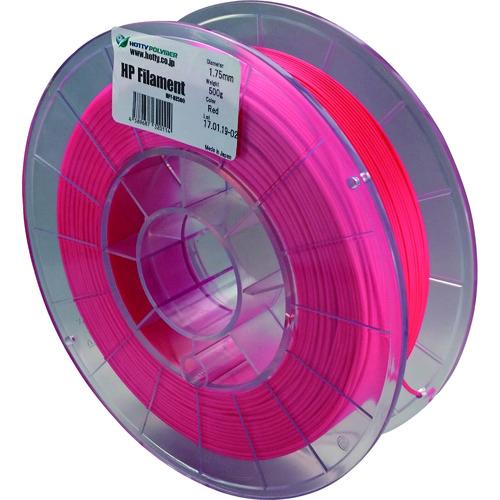 ホッティポリマー HPフィラメント《スーパーフレキシブルタイプ》赤 RE500