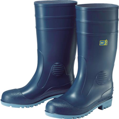 ミドリ安全 耐油・耐薬品性・静電安全長靴 W1000静電 W1000SBL26.0