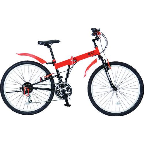 TRUSCO 災害時用ノーパンク自転車 ハザードランナー 26インチ THR5526