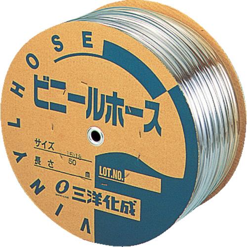 サンヨー 透明ホース15×18 50mドラム巻 TM1518D50T