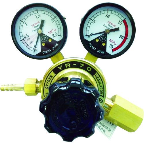 ガス調整器 物品 ヤマト 全真鍮製酸素調整器 YR-70 関東式 YR70OXE スーパーセール期間限定