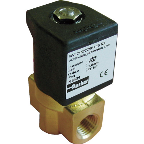 クロダ 流体制御用直動形2ポートバルブ WV121S222QVI1S8P