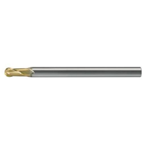 ユニオンツール 超硬エンドミル ボール R0.05×刃長0.1×φ4 HSB20010010