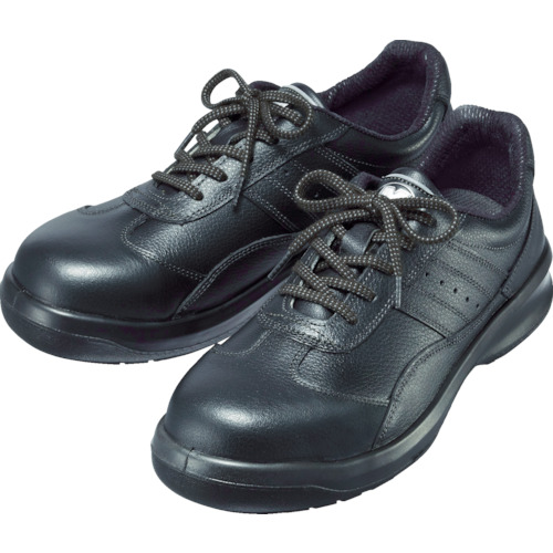 ミドリ安全 レザースニーカータイプ安全靴 G3551 G3551BK25.5