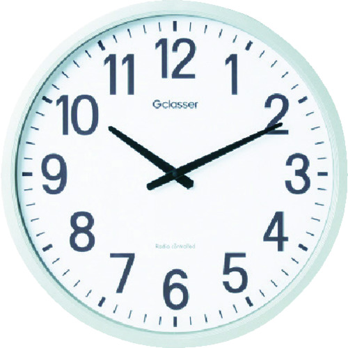 キングジム 電波掛時計 ザラ-ジ GDK001