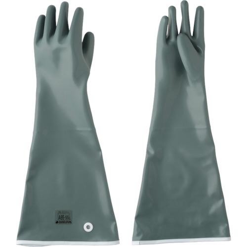 DAILOVE 耐酸・耐アルカリ用手袋 ダイローブA95-55(L) DA9555L