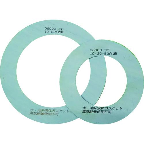 ガスケット TRUSCO フランジ内パッキン 低価格化 10K 2T セール特価品 80A D600010K80A2TRF