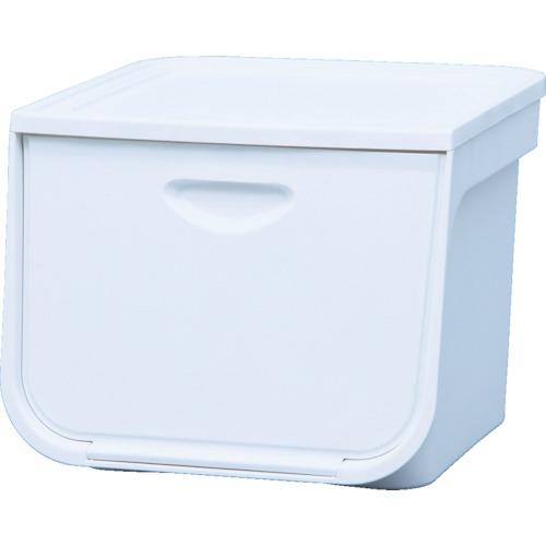 引き出し式収納ケース IRIS 238068 フラップボックス FLPMWH 人気の製品 ホワイト M 1個入 高級な