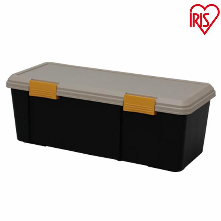 品質保証 送料無料 お得な2個セット RVBOX770D カーキ 黒 収納 カー用品 アイリスオーヤマ トランク 0726 市場 カー収納 アウトドア レジャー