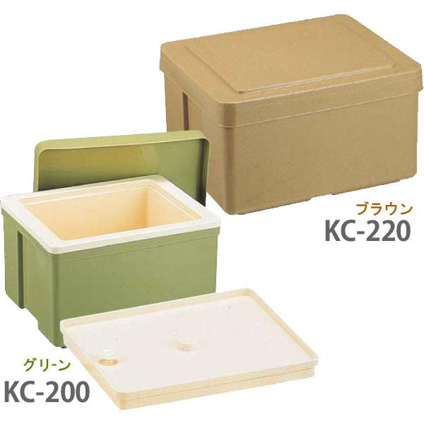 保温保冷食函大KC-220内蓋付DHO066Aブラウン 【TC】【en】
