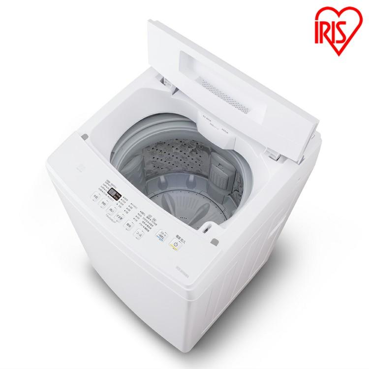 全自動洗濯機 7.0kg IAW-T703E送料無料 全自動洗濯機 7.0kg 全自動 洗濯機 部屋干し きれい キレイ senntakuki 洗濯 毛布 洗濯器 せんたっき ぜんじどうせんたくき 洗濯機 おしゃれ着洗い ステンレス槽 アイリスオーヤマirispoint