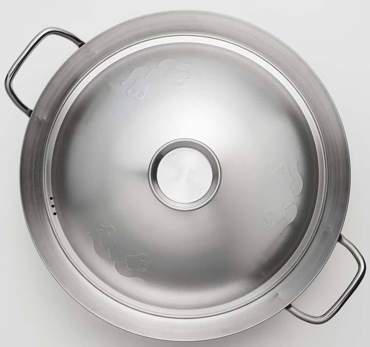 ヨシカワ 美味彩菜ちゃんこ鍋28cm SJ2198両手鍋 IH対応 ガス火対応 ステンレス製 なべ 大容量 日本製 卓上鍋 キッチン用品