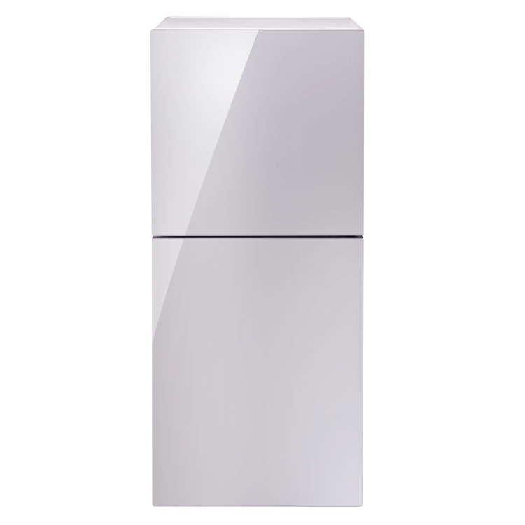 冷蔵庫 小型 2ドア 146L 冷凍庫 2ドア冷凍冷蔵庫ハーフ&ハーフ パールホワイト HR-E915PW送料無料 冷凍冷蔵庫 ハーフ&ハーフ 2ドア ツインバード 一人暮らし ビジネス 冷蔵庫 省エネ TWINBIRD パールホワイト【D】