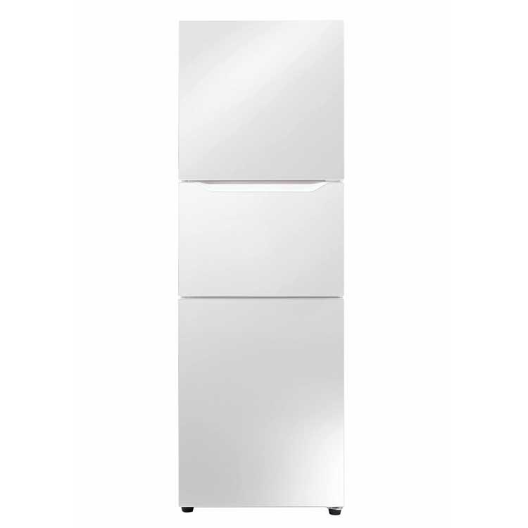 3ドア冷凍冷蔵庫 パールホワイト HR-E919PW送料無料 冷凍冷蔵庫 3ドア ツインバード 一人暮らし ビジネス シニア 省エネ 切替室 4段引き出し TWINBIRD パールホワイト【D】 【代引不可】