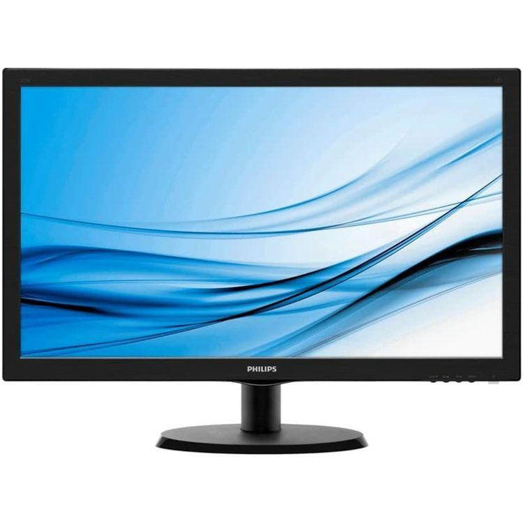 21.5型ワイド液晶ディスプレイ ブラック 5年間フル保証 223V5LHSB/11送料無料 モニター フィリップス パソコン PC機器 PHILIPS(ディスプレイ) 【D】