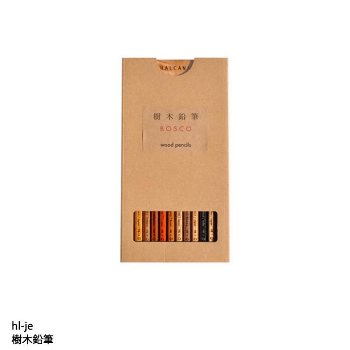 手触りや重さ 質感 お求めやすく価格改定 人気ブレゼント! 香りを比べてみることの出来る10本の鉛筆 メーカー直送 HALCANA 代引不可 樹木鉛筆