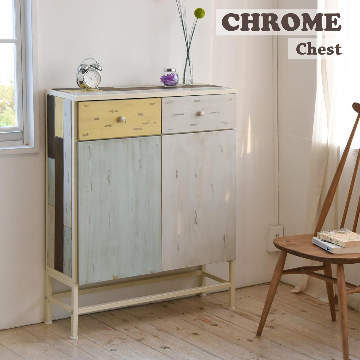 【送料無料】 【メーカー直送・代引不可】CHROME チェスト