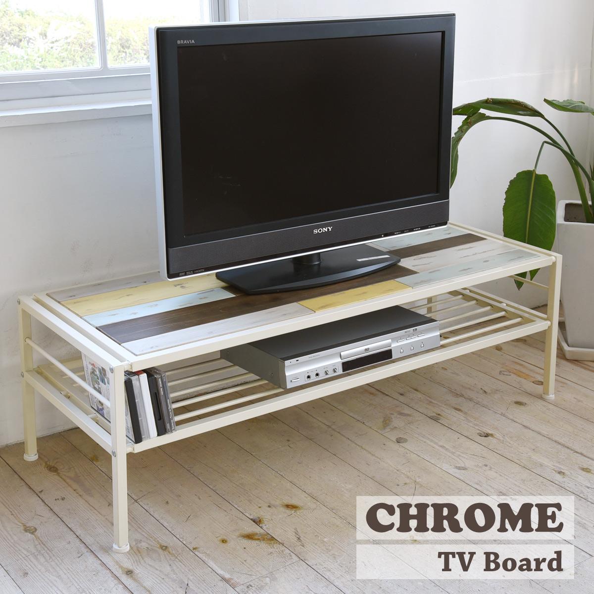 【送料無料】 【メーカー直送・代引不可】CHROME テレビ台