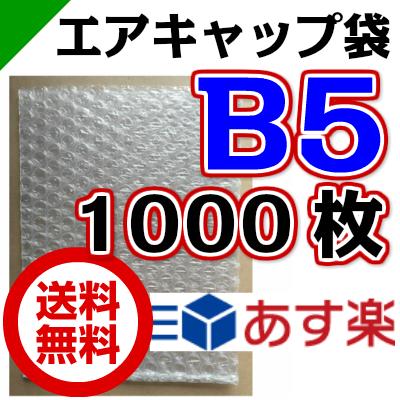 エアキャップ袋 B5 サイズ 210mm×270mm 1000枚( エアーキャップ袋 エアパッキン袋 エアーパッキン袋 エアクッション袋 エアークッション袋 梱包資材 緩衝材 発送用 )