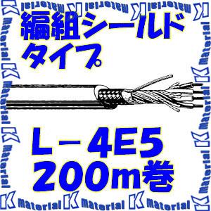 【P】カナレ電気 CANARE 電磁シールドマイクケーブル 4心 編組シールドタイプ L-4E5 200m巻 機器間配線用 [25071]