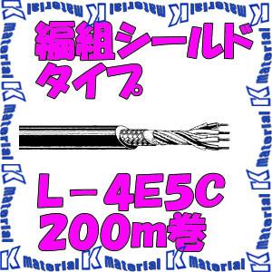 カナレ電気 CANARE 電磁シールドマイクケーブル 4心 編組シールドタイプ L-4E5C 200m巻 ステージ・報道中継用 [25061]