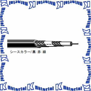 【P】【代引不可】カナレ電気 CANARE 75Ωトライアキシャルケーブル L-5CFTX 200m巻 両端未処理 [KA2441]