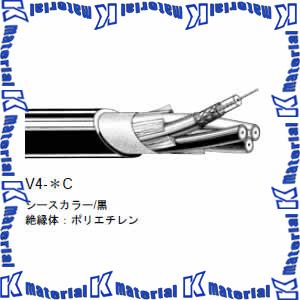 【P】【代引不可】 カナレ電気 CANARE 75Ω同軸マルチケーブル 4ch 3Cケーブル V4-3C 100m巻 高密度編組シールドタイプ [KA1381]