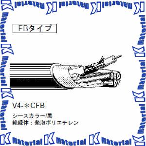 カナレ電気 CANARE 75Ω同軸マルチケーブル 5ch 5Cケーブル V5-5CFB 100m巻 低減衰タイプ シース黒 [KA0245-100]