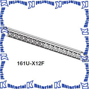 カナレ電気 CANARE オーディオパッチ盤 16ch XLRコネクタ盤1U 161U-B1 NC3メス 16個 [KA1735]