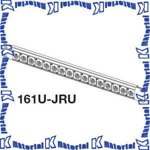 カナレ電気 CANARE ビデオパッチ盤 16ch BNCコネクタ盤1U 161U-JRUDB BNCメス 16個 フランジD [KA1942]