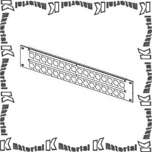 【P】【代引不可】カナレ電気 CANARE パッチ盤 コネクタパネル2U 2U-AS1D ノイトリックD用32穴 [KA1985]