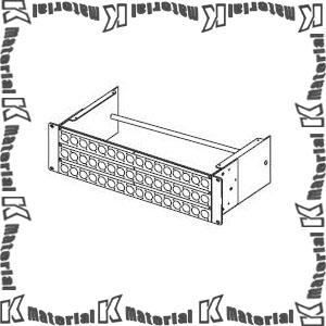 カナレ電気 CANARE パッチ盤 コネクタパネル3U 3U-AS7D ノイトリックD用48穴 結束バー付 ロングタイプ [KA2018]