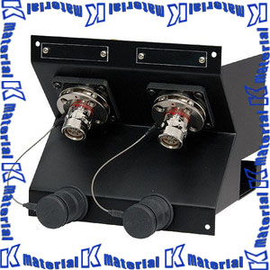 【P】【代引不可】 カナレ電気 CANARE 光カメラコネクタ盤 ユニット単体2U COU-FF2 コネクタFCFRA 2個 [KA2166]