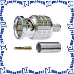 【P】【代引不可】 カナレ電気 CANARE BNCコネクタ 75ΩBNC型プラグ 圧着式 ストレート型 BCP-A5F 100個入 5C スタンダード [KA0578]