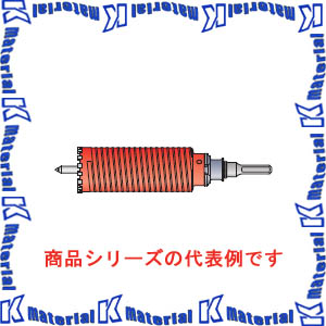 【P】ミヤナガ ポリクリック 乾式ドライモンドコアドリルセット SDSプラスシャンク 刃先径38mm PCD38R [ONM0038]