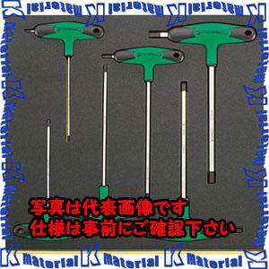 【P】【代引不可】【個人宅配送不可】ESCO(エスコ) 6本組 T型六角棒レンチセット EA612TB-6[ESC112000]