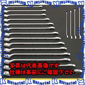 【代引不可】【個人宅配送不可】ESCO(エスコ) 18本組 ロング片目片口スパナセット EA612TE-2[ESC111287]
