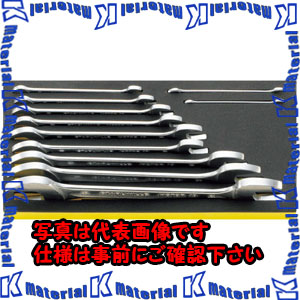 【P】【代引不可】【個人宅配送不可】ESCO(エスコ) 11本組 両口スパナセット EA612TG-1[ESC111953]
