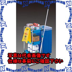 【P】【代引不可】【個人宅配送不可】ESCO(エスコ) 470x830x1040mm 清掃用カート EA928CF-6[ESC111079]