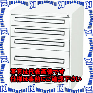 【P】【代引不可】【個人宅配送不可】ESCO(エスコ) 5段 ツールキャビネット EA955AD-2A[ESC110765]