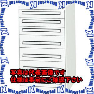 【代引不可】【個人宅配送不可】ESCO(エスコ) 7段 ツールキャビネット EA955AD-5A[ESC110639]